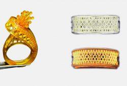envisiontec 3Dプリンター ステップワイズ スズホウ 鋳造 宝飾